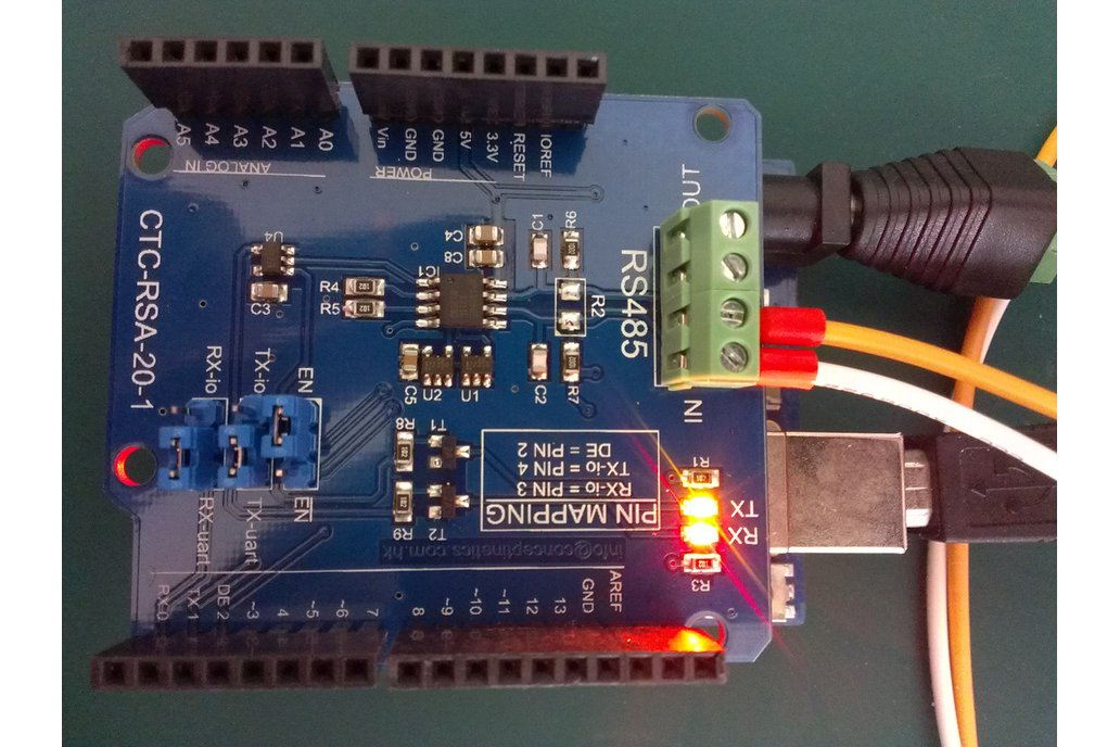 RS485 RS422 Shield for Arduino