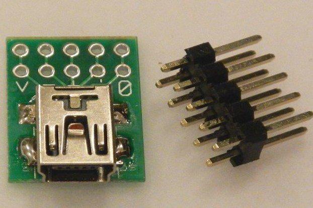 USB-mini breakout