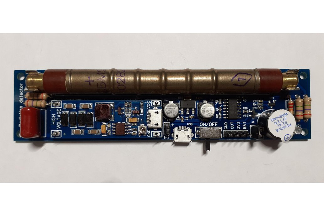 GGreg20_V1 Set 1 - ionizing radiation detector 1