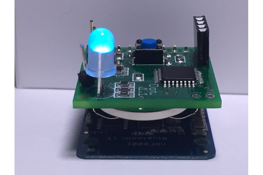 IoT Button and LED [Dot] - Bluetooth 4.0 1