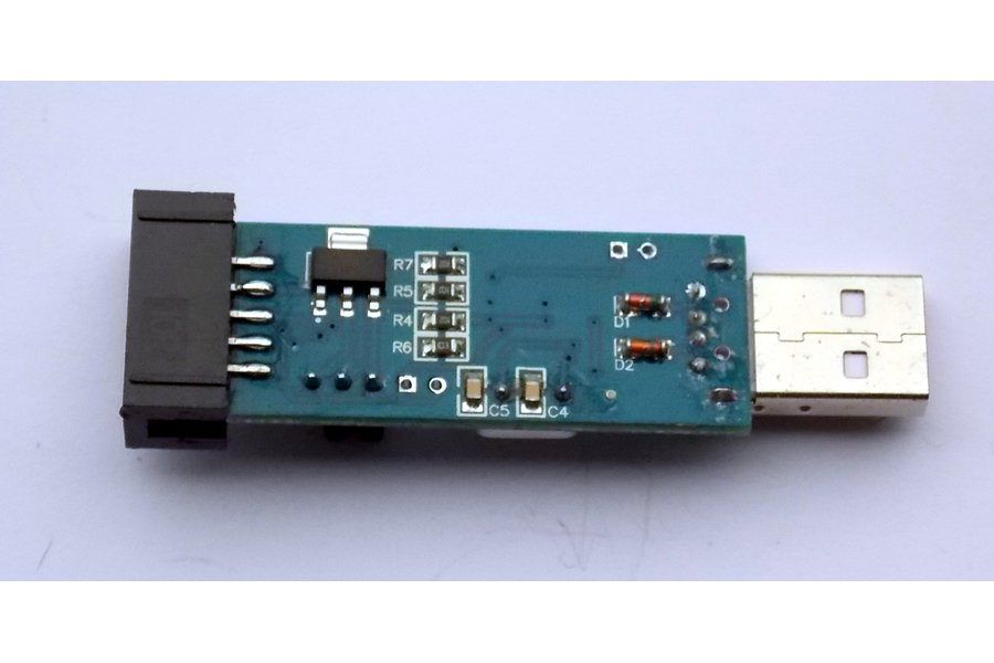 USBasp AVRISP Programmer 10-pin with cables