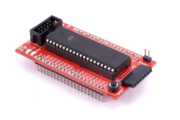 AVR 40 Pin Breakout Board with Atmega32