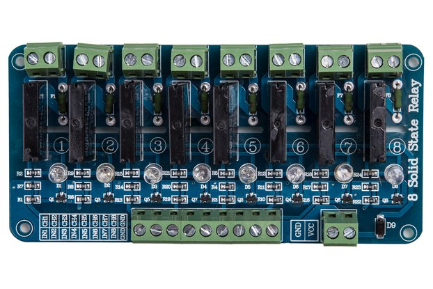 8-Channel Solid State Relay