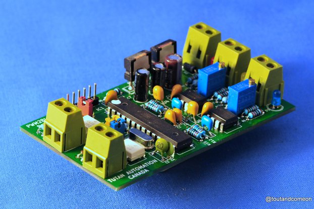 Isolated 2 Chan Low Speed PWM to Analog Converter
