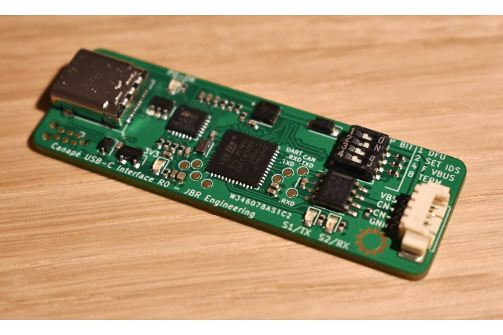 Entreé USB C to CAN Interface with USB-PD 1