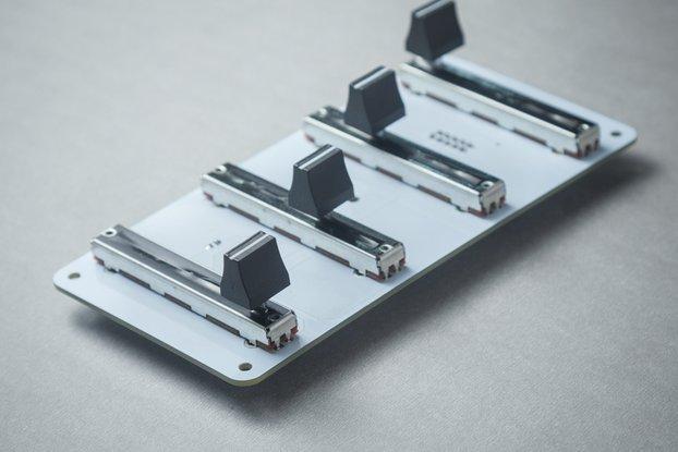F41 - 4x1 Fader module