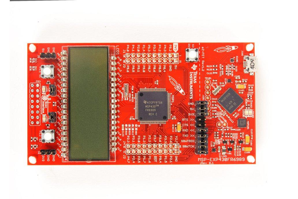 Texas Instruments MSP430FR6989 LaunchPad Dev Kit  3