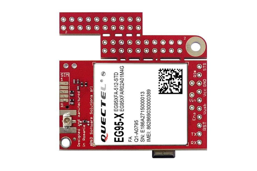 u-GSM w. EG95E - LTE CAT4(4G), 3G, GSM EMEAA modem 1