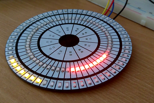 Battlestar Chronometer Bare PCB (LED Matrix)