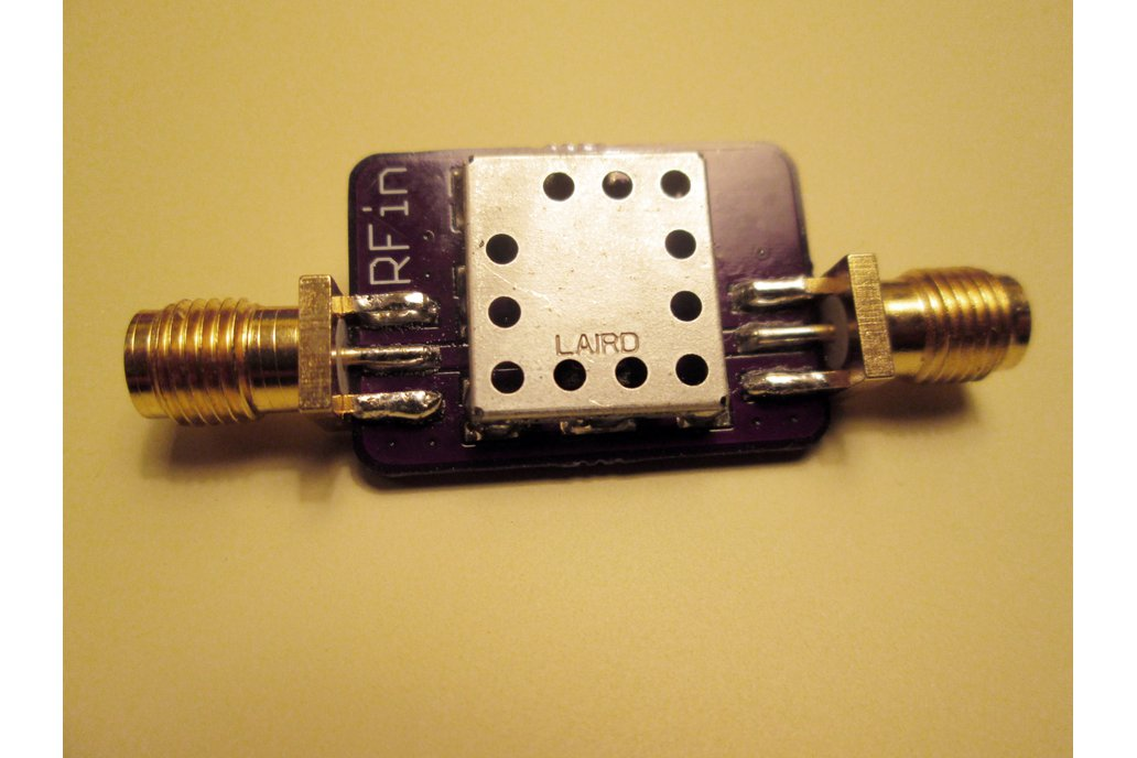 433 MHz Bandpass Filter Band Pass; 5 MHz Bandwidth 1