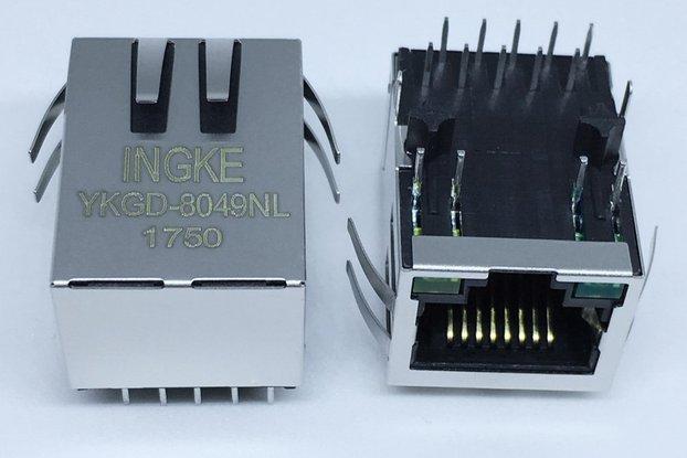 SI-61001-F RJ45 Jacks with Integrated Magnetics