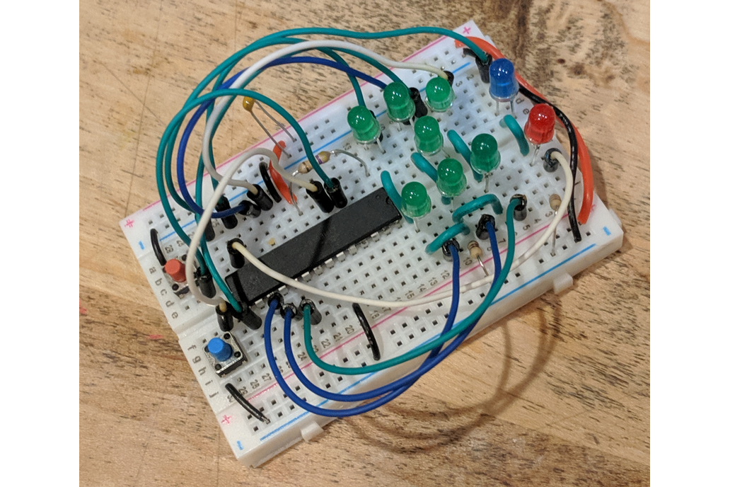 ATmega8a Dice Kit 1