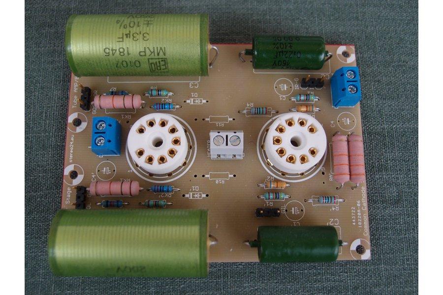 Universal PCB for tube preamp CCDA stage ECC88