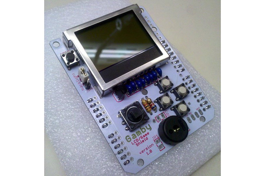 Gamby arduino retro gaming shield from logicalzero on tindie