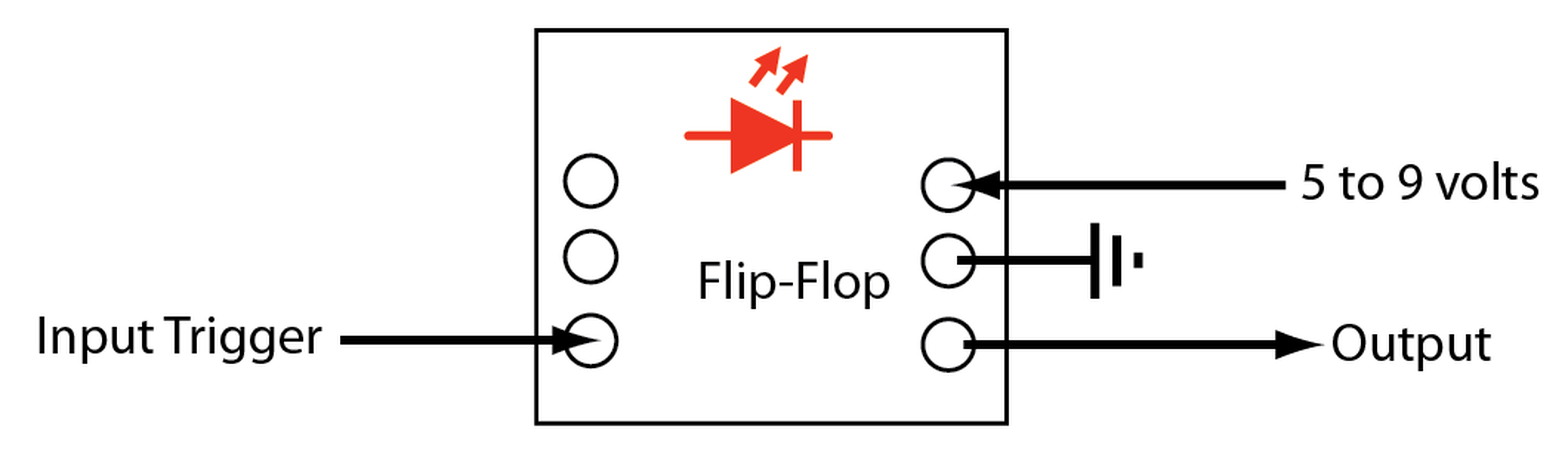 Flip Flop Kit From Theosauro On Tindie Circuit Diagram 4