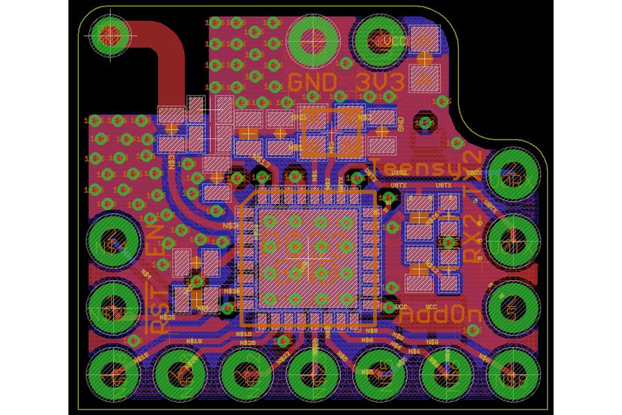 ESP8285 Add-on for Teensy 3.2