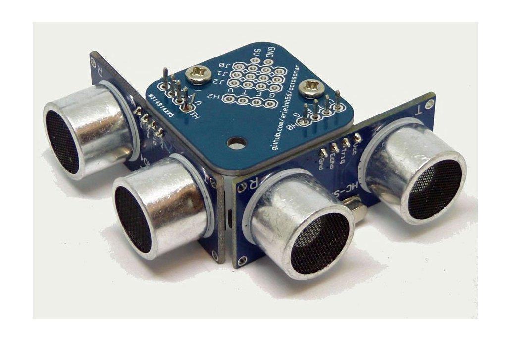 Trimount brackets for HC-SR04 Sensors - set of 4 5