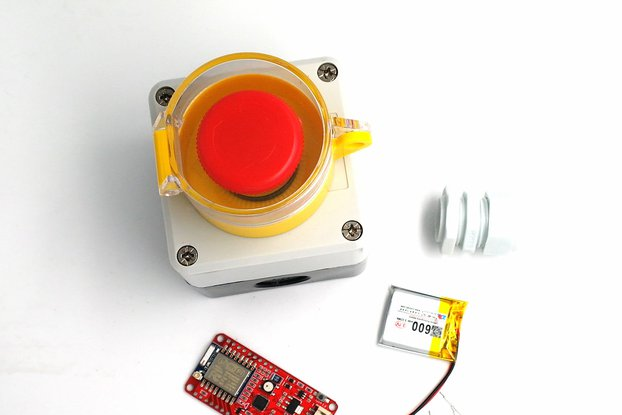 DSTIKE ESP8266 Waterproof Emergency Button DIY Kit
