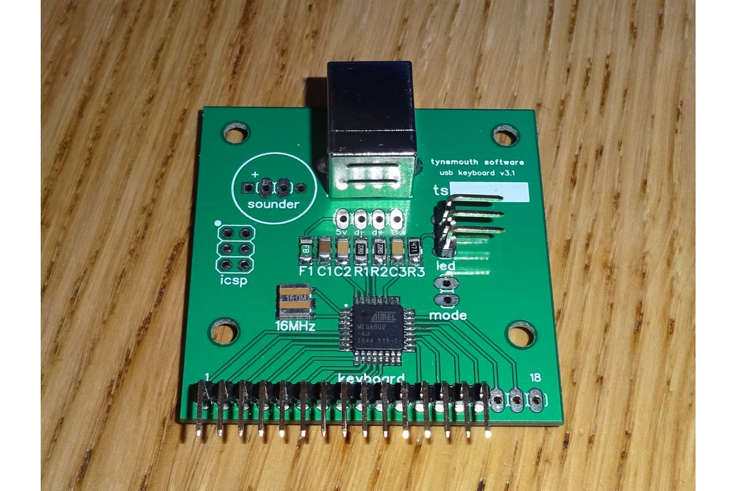 TI-99/4A USB keyboard conversion kit 2