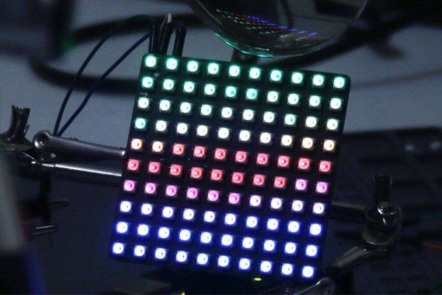 LED Matrix 65x65 mm - WS2812B 3535 - 10x10