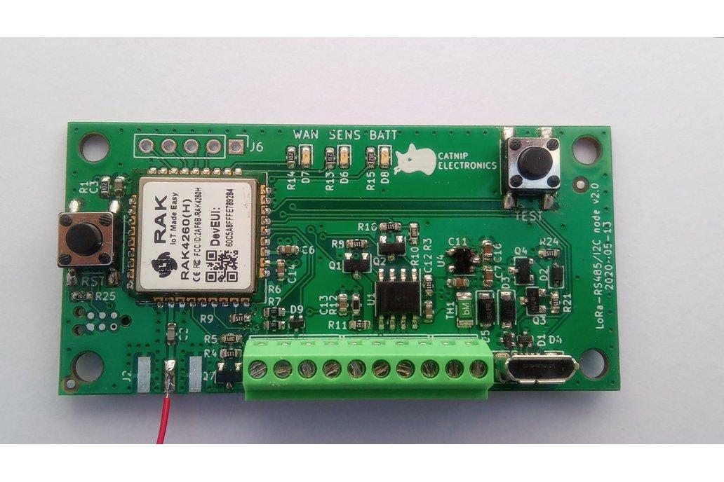 Low power LoRa I2C & RS485 node 1