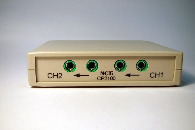 NCTi CP2100 dual channel current probe 10MHz/10A