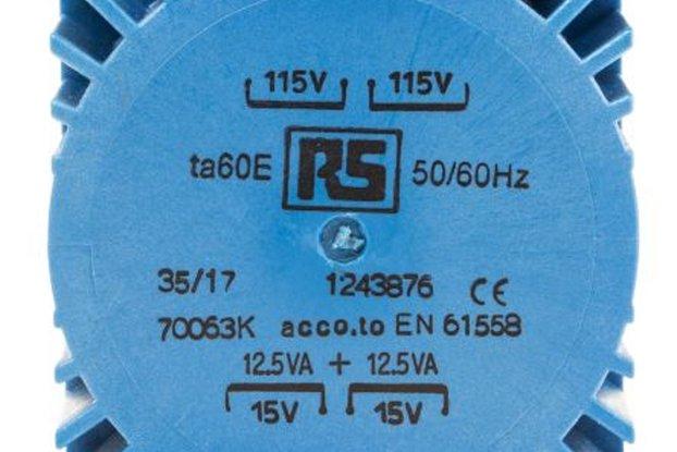 Power Transformer 15VA 2*115V 2*15V
