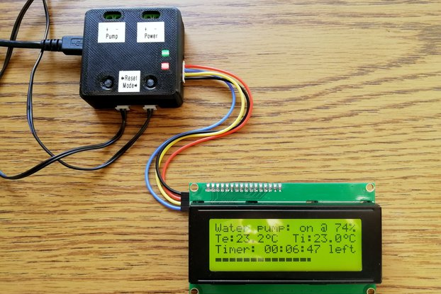 Hydroponic Water Pump Controller V1.0X