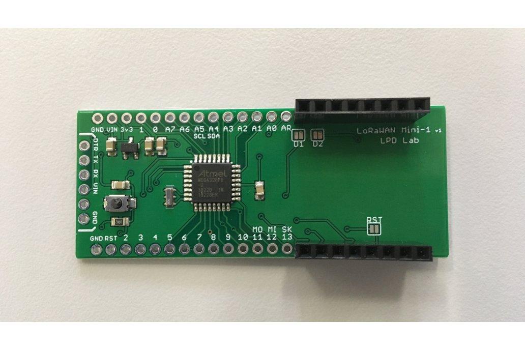 LoRaWAN-MiniB - An Arduino compatible board 1