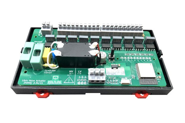 Tasmota ESP32 Floor Heating Valve Controller