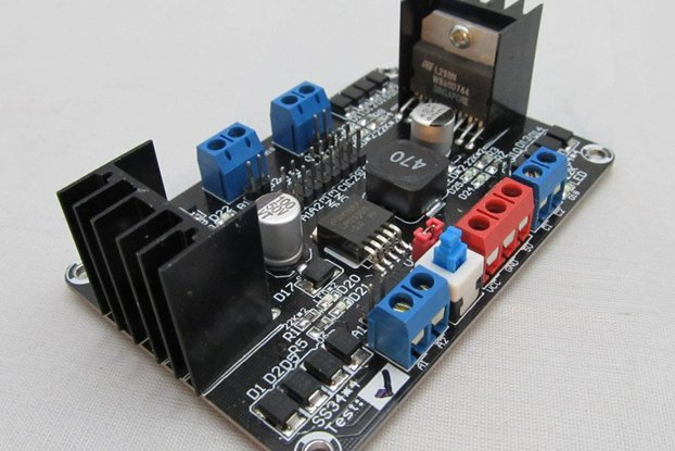 4DC Motor Controller for 4WD robot chassis