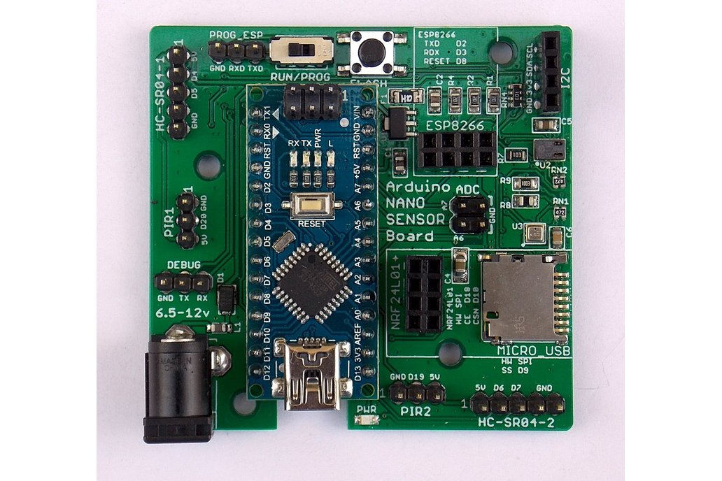 Wireless Multi-Sensor Board for IoT/Smart-Home