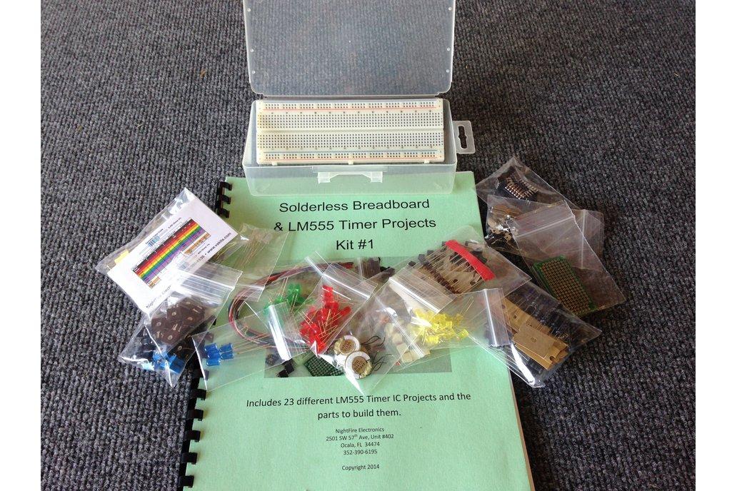 Timer Project Kit#1 w/ Solderless Breadboard 1