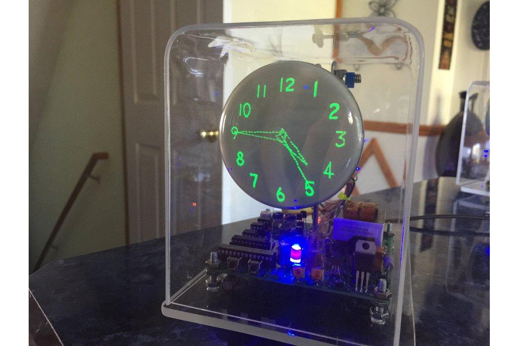Oscilloscope Clock DG7-32 CRT fully assembled 1