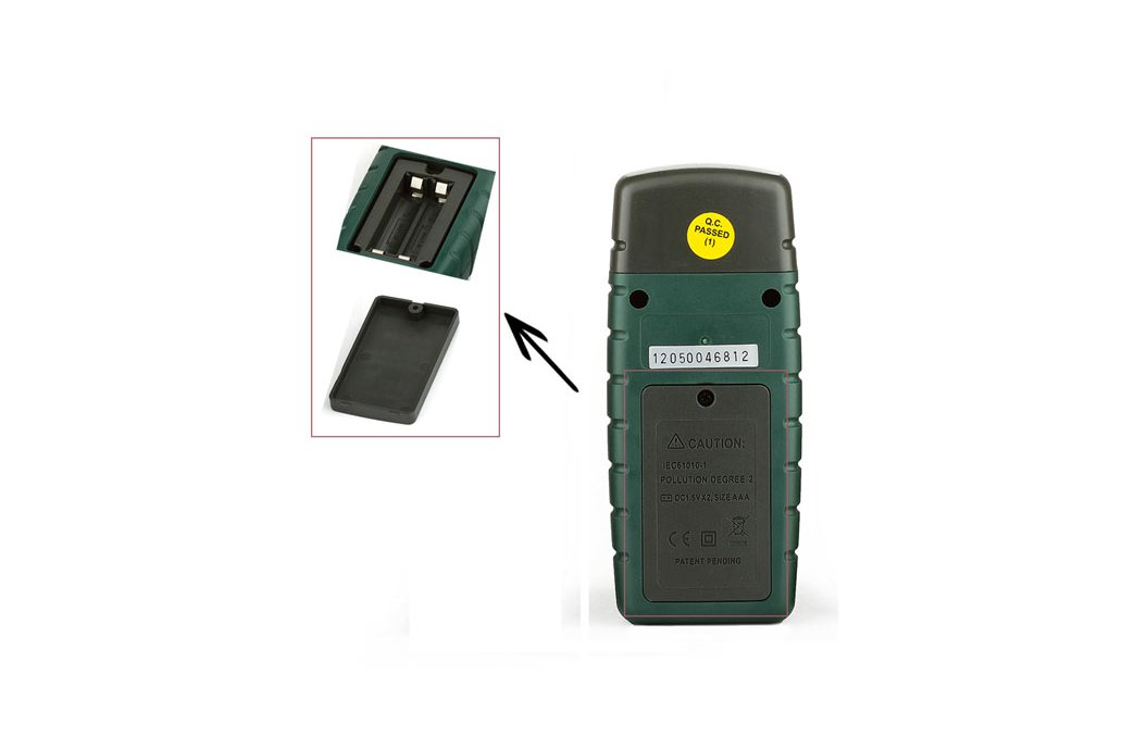 Wood Timber Moisture Humidity Temperature Detector 3
