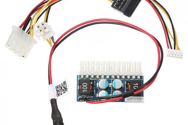 DC-ATX-160W Pico Switch PSU Car Auto Mini ITX ATX Power Supply Module