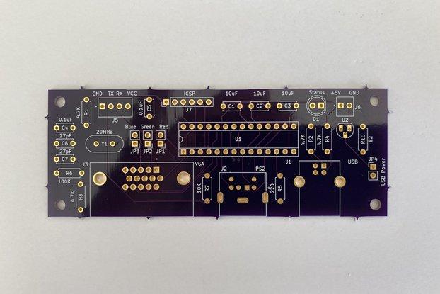 Geoff's VT100 Terminal PCB+MCU