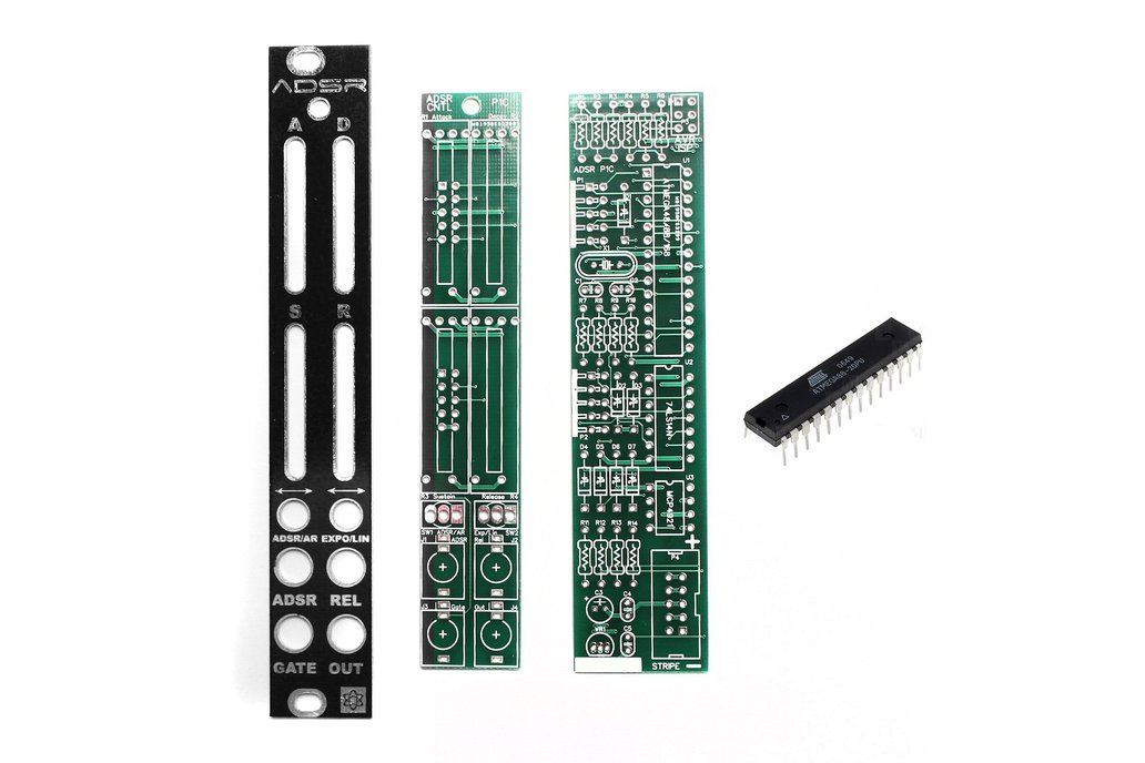 ADSR PCBs, Panel and IC 1