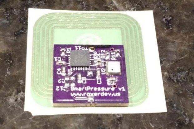 PSIkick - NFC/smartphone pressure sensor