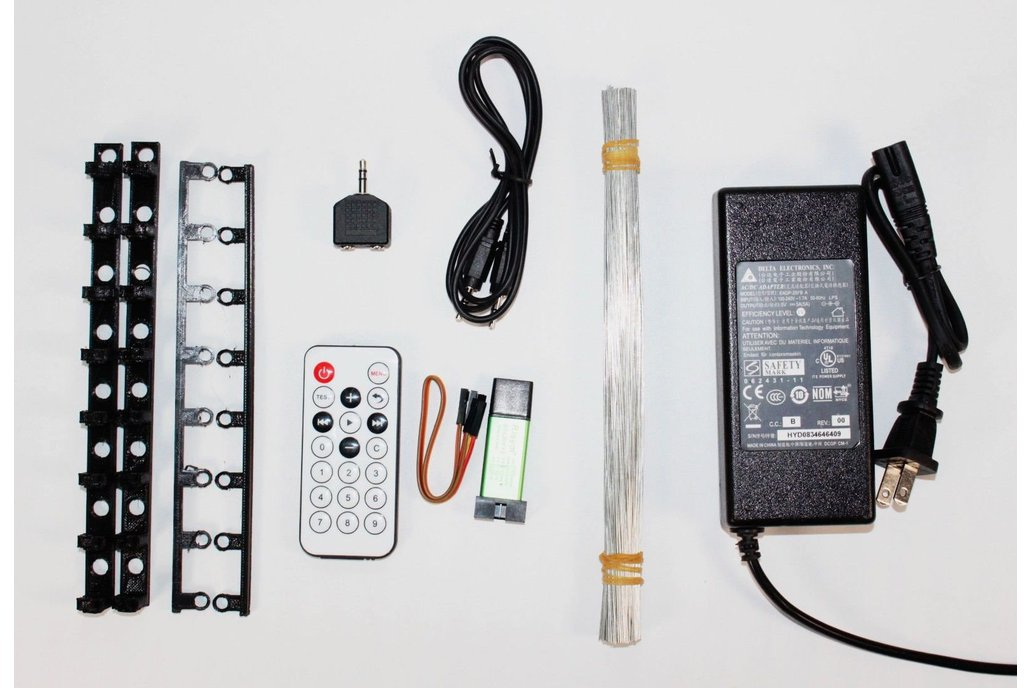 AuraCube 8x8x8 3D RGB LED Cube DIY Kit 11