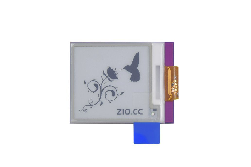 Zio E-Ink Display (1.5 in, 200x 200 pixels) 4