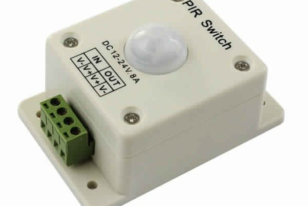 12V-24V infrared PIR Motion Sensor Switch Controll