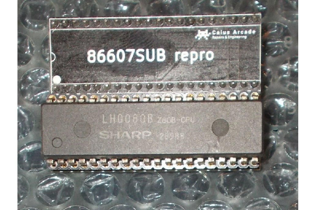 '86607SUB' replacement **Z80 CPU NOT INCLUDED!** 1