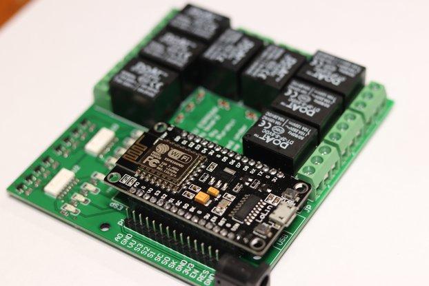 NodeMCU 8-channel relay board