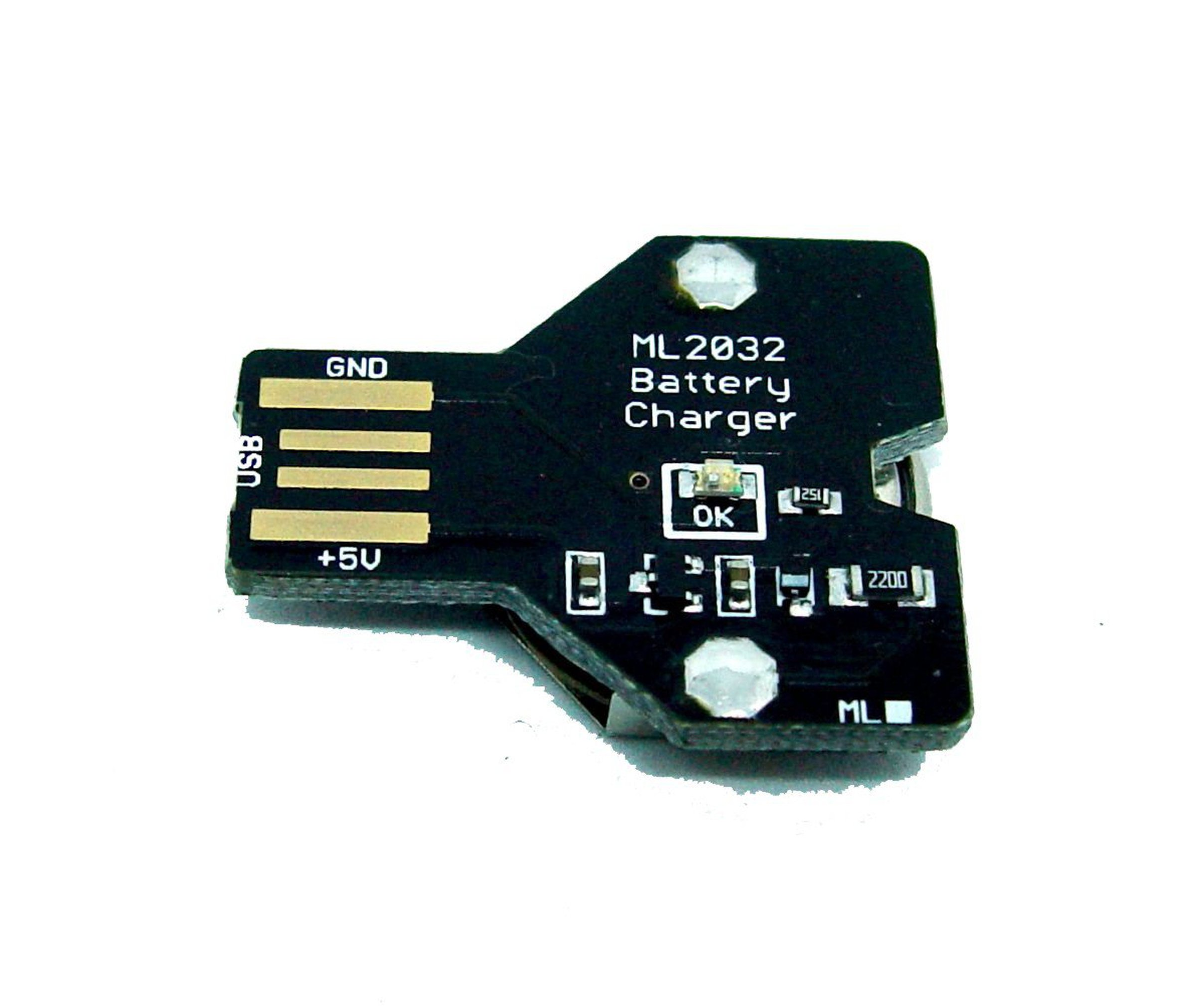 Usb Lithium Coin Cell Battery Charger Ml2032 From Pemi Technology On Simple Nimh Circuit Batterycharger Powersupply 9