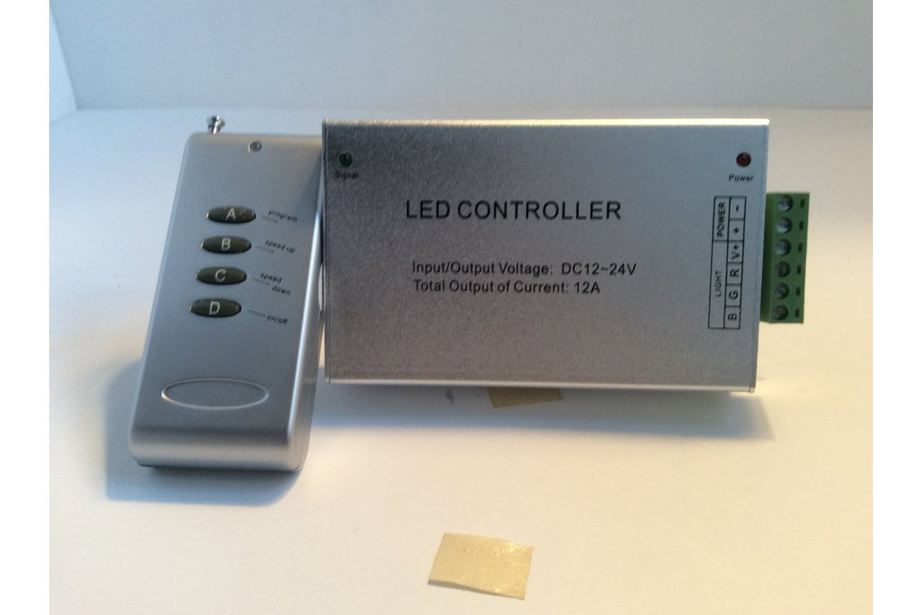 Radio Controller for an LED RGB Strip 1