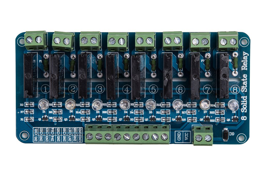 8-Channel Solid State Relay 1