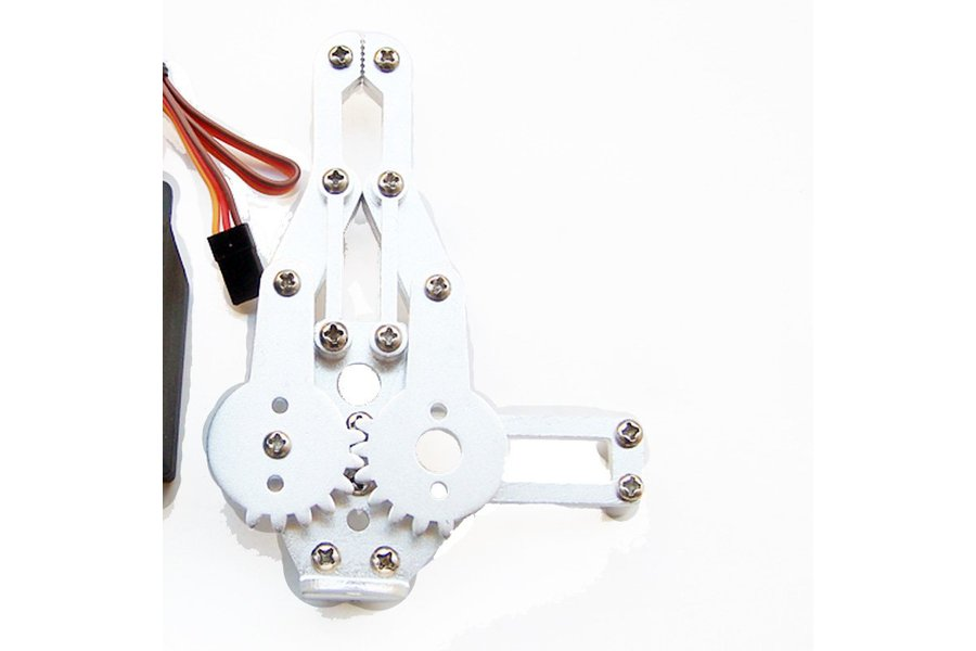 Metal Robotic Arm Gripper with Optional Servo