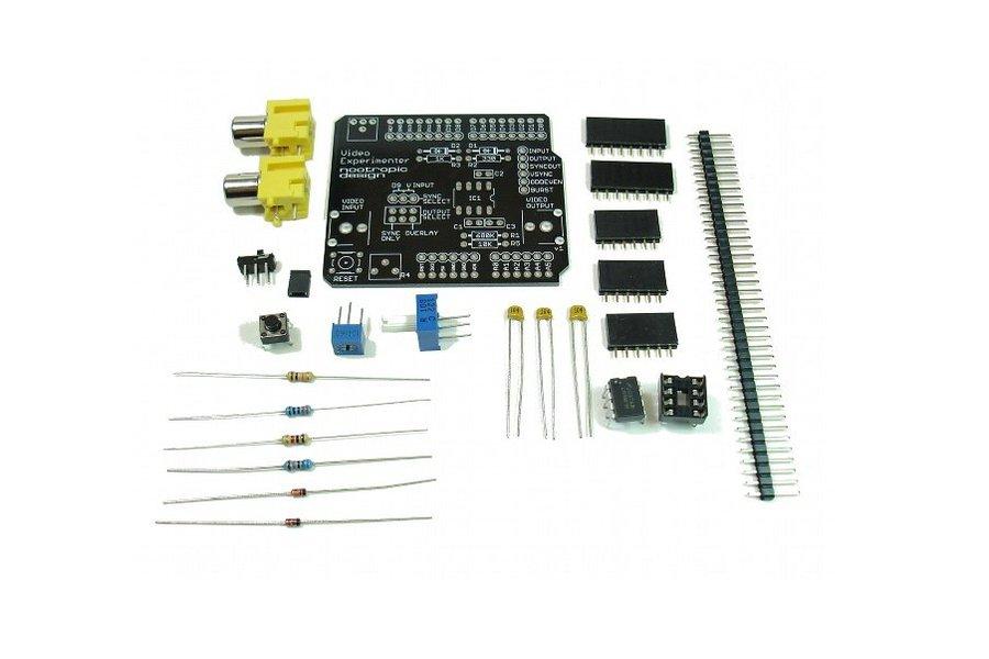 Video Experimenter Shield - Kit