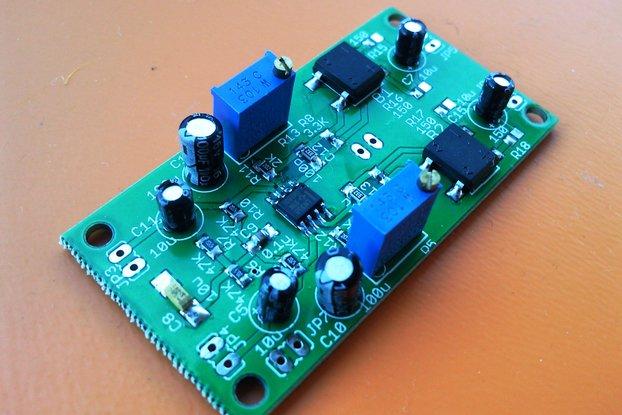 Analog VU meter driver board